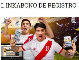 Inkabet bono por registro