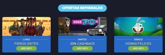 WildTornado Casino Promociones
