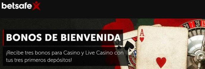 Betsafe Bonus Live Casino